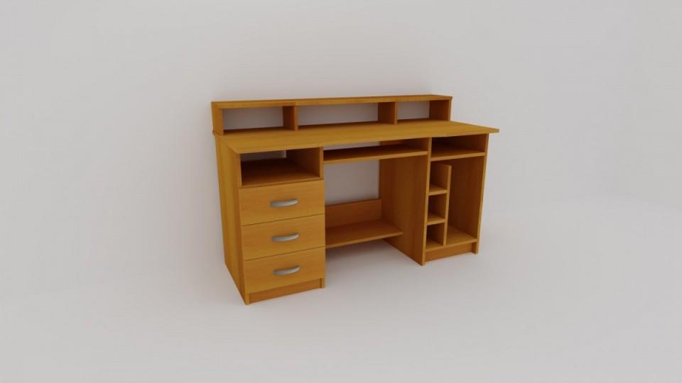 Pc a psací stůl WEST, levý