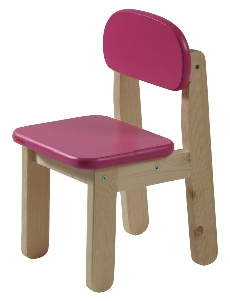 Dětská židle PUPPI - RŮŽOVÁ