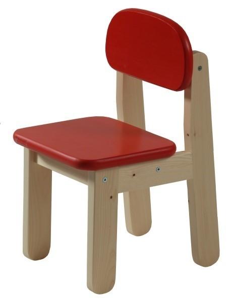 Dětská židle PUPPI - ČERVENÁ
