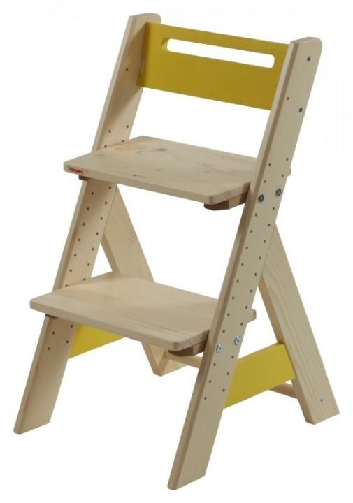 Dětská rostoucí židle ZUZU - žlutá