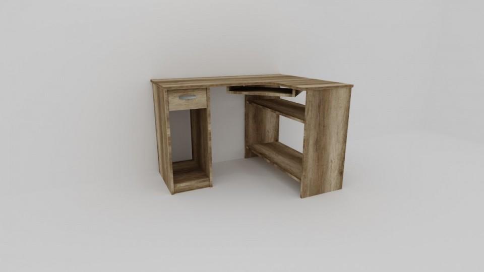 PC stolek rohový LUKY, levý