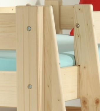 Etážová postel Sendy, výška 180 cm - BUK č.5
