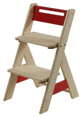 Dětská rostoucí židle ZUZU - červená
