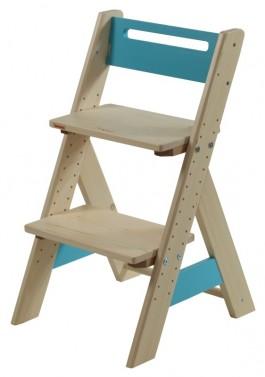 Dětská rostoucí židle ZUZU - modrá