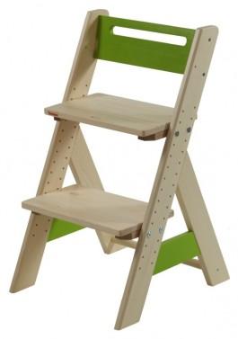 Dětská rostoucí židle ZUZU - zelená