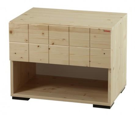 Noční stolek Hanny - Smrk