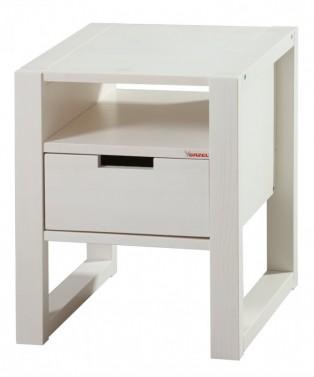 Noční stolek Rhino bílá