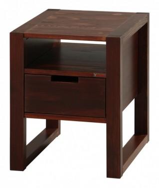 Noční stolek Rhino brown