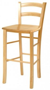 Barová židle PAYSANE masivní sedák č.1