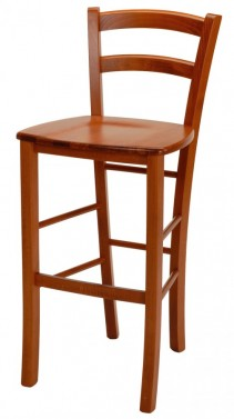 Barová židle PAYSANE masivní sedák č.2