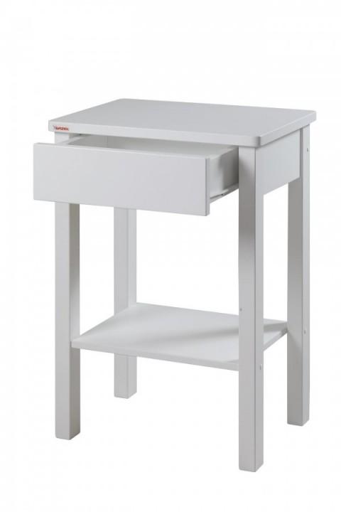 Noční stolek Theo smrk bělený č.2