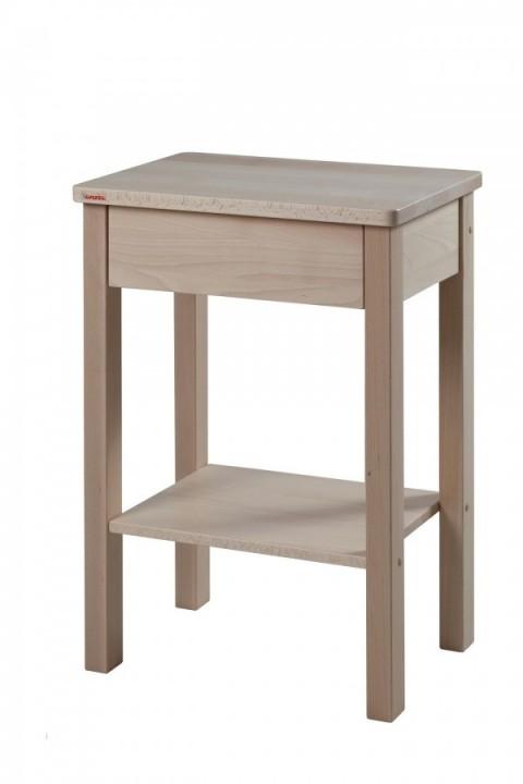 Noční stolek Theo buk přírodní