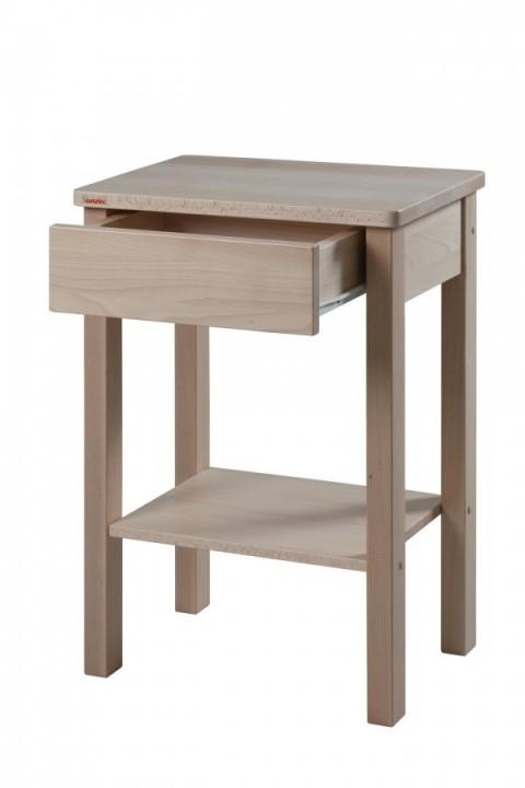 Noční stolek Theo buk přírodní č.2